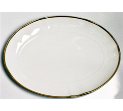 Simply Elegant Gold Oval Platter by Anna Weatherley