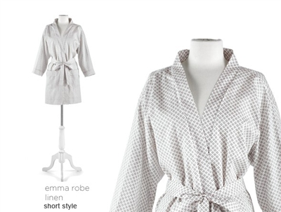 Emma Luxury Robe by Peacock Alley