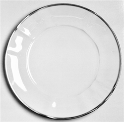 Simply Elegant Platinum Dinner Plate by Anna Weatherley