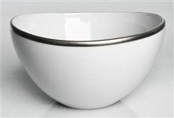 Simply Elegant Platinum Fruit Bowl by Anna Weatherley