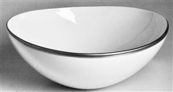 Simply Elegant Platinum Cereal Bowl by Anna Weatherley