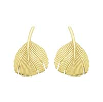 Dove Feather Earrings- Grainger McKoy