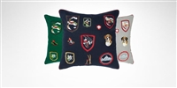 Yves Delorme - Iosis Ecussons Decorative Pillow