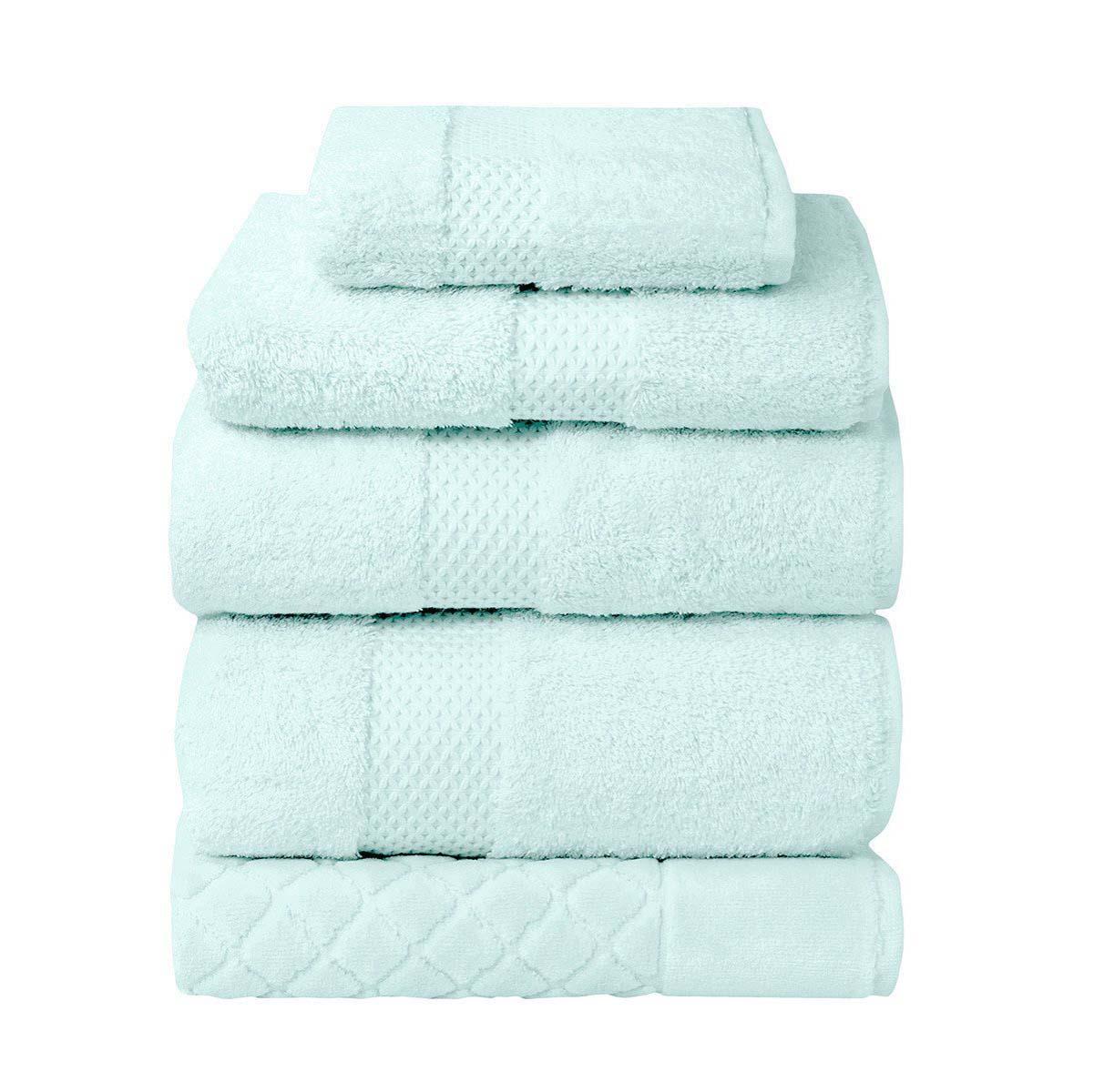 Peacock bathroom towels - Etoile Luxury Towels