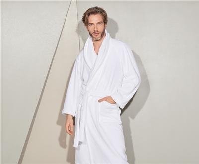 yves delorme etoile robe modal terry bath robe. Black Bedroom Furniture Sets. Home Design Ideas