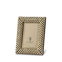 Braid Gold Picture Frame by L'Objet