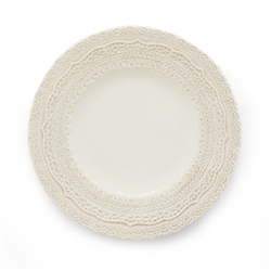 Finezza Cream Salad/Dessert Plate by Arte Italica