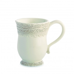 Finezza Cream Mug by Arte Italica