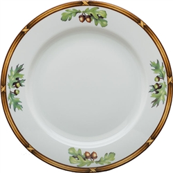 Game Birds Plain Center Dinner Plate  by Julie Wear