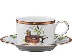 American Widgeon Cup and Saucer by Julie Wear