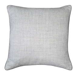 Peacock Alley - Graham Houndstooth Decorative Pillow