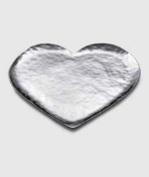 "Amore Stainless Heart Tray 9"" by Mary Jurek Design"