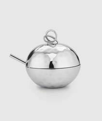 "Opus Sugar Bowl with Dbl Loop 4"" D by Mary Jurek Design"