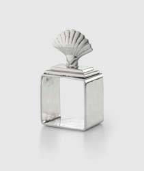 Shell Napkin Ring Set (4pc Box) by Mary Jurek Design