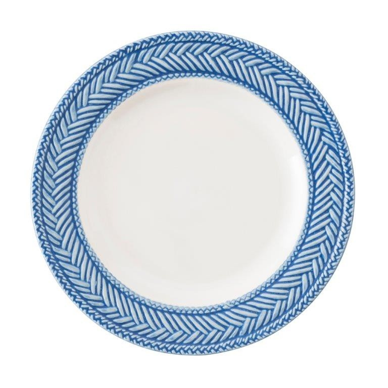 Le Panier White/Delft Side/Cocktail Plate by Juliska  sc 1 st  Sallie Home & Juliska - Le Panier White/Delft Side/Cocktail Plate