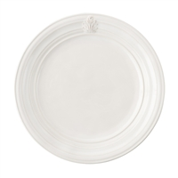 Acanthus Whitewash Dinner Plate by Juliska