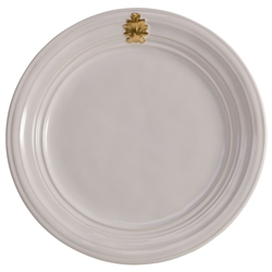 Acanthus Gold Dinner Plate by Juliska