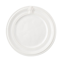 Acanthus Whitewash Side/Cocktail Plate by Juliska