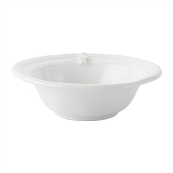 Acanthus Whitewash Cereal Bowl by Juliska