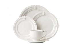 Acanthus Whitewash 5-Piece Place Setting by Juliska
