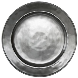 Pewter Stoneware Dinner Plate by Juliska