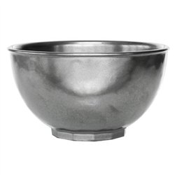 Pewter Stoneware Cereal/Ice Cream Bowl by Juliska