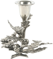 Oak Leaf Candlestick (Single Candle) by Vagabond House
