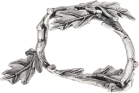 Oak Branch Pewter Napkin Ring by Vagabond House