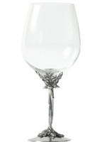 Oak Branch Entwined Stem Bordeaux Glass by Vagabond House
