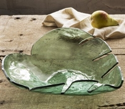 Leaves Large Palm Bowl  by Annieglass