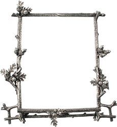 "Acorn & Oak Branch Cast Frame 8"" x 10"" by Vagabond House"