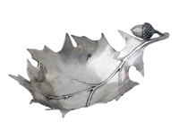 Black Forest Leaf Condiment Dish by Vagabond House