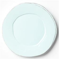 Lastra Aqua Dinner Plate by VIETRI