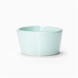 Lastra Aqua Condiment Bowl by VIETRI