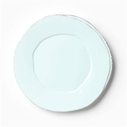 Lastra Aqua European Dinner Plate by VIETRI