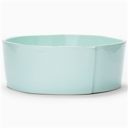Lastra Aqua Large Serving Bowl by VIETRI