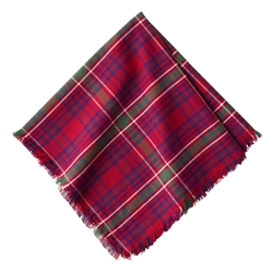 Christmas Tartan Red Napkin by Juliska