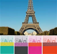Paris Lumiere Tea Towels by Le Jacquard Francais