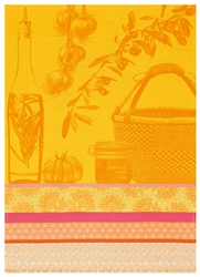 Saveurs de Provence Tea Towels by Le Jacquard Francais