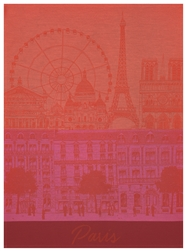 Paris Panorama Tea Towels by Le Jacquard Francais