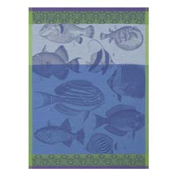 Moorea Tea Towels by Le Jacquard Francais