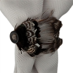 Feather Napkin Ring by Juliska
