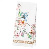 Floretta Tea Towel by Juliska