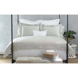 Nocturne Hemstitch Luxury Bed Linens by Matouk