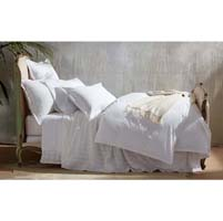 Ceylon Satin Stitch Luxury Bed Linens by Matouk
