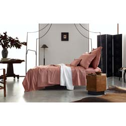 Talita Satin Stitch Luxury Bed Linens by Matouk