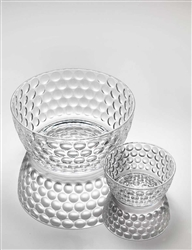 Lente Clear Salad Bowl by Mario Luca Giusti