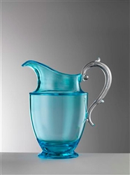 Federica  Turquoise Pitcher by Mario Luca Giusti