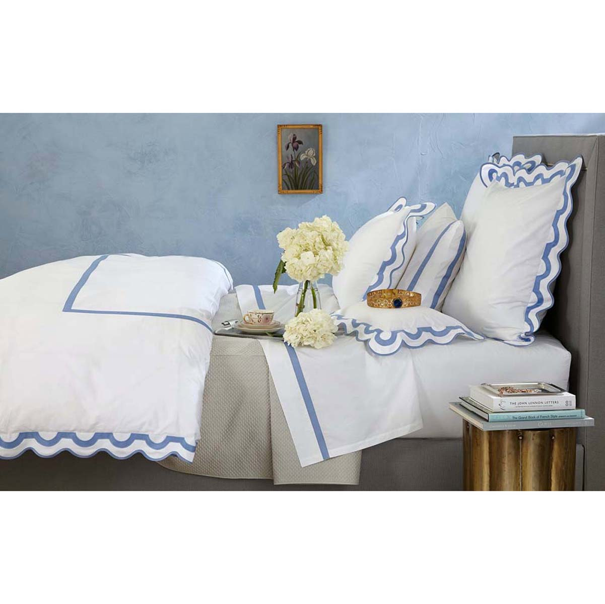 Luxurious Bed Linens Part - 27: Mirasol Luxury Bed Linens By Matouk