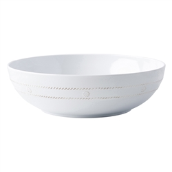 "Al Fresco Berry and Thread White 12"" Bowl by Juliska"